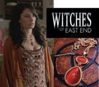 Witches of East End (Čarodějky z East Endu) - náhrdelník oranžový