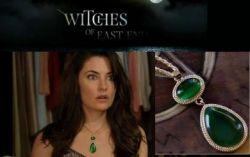 Witches of East End (Čarodějky z East Endu) - náhrdelník zelený