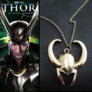 Avengers - náhrdelník helma Loki