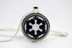 Star Wars - náhrdelník Galaktické Imperium symbol