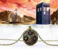 Doctor Who náhrdelník Gallifreyan symbol