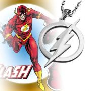 The Flash - náhrdelník (ocel)