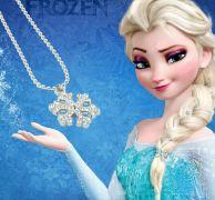 Frozen /Ledové království - náhrdelník s křišťály