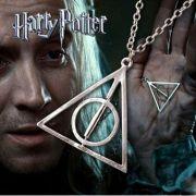 Harry Potter Relikvie smrti náhrdelník