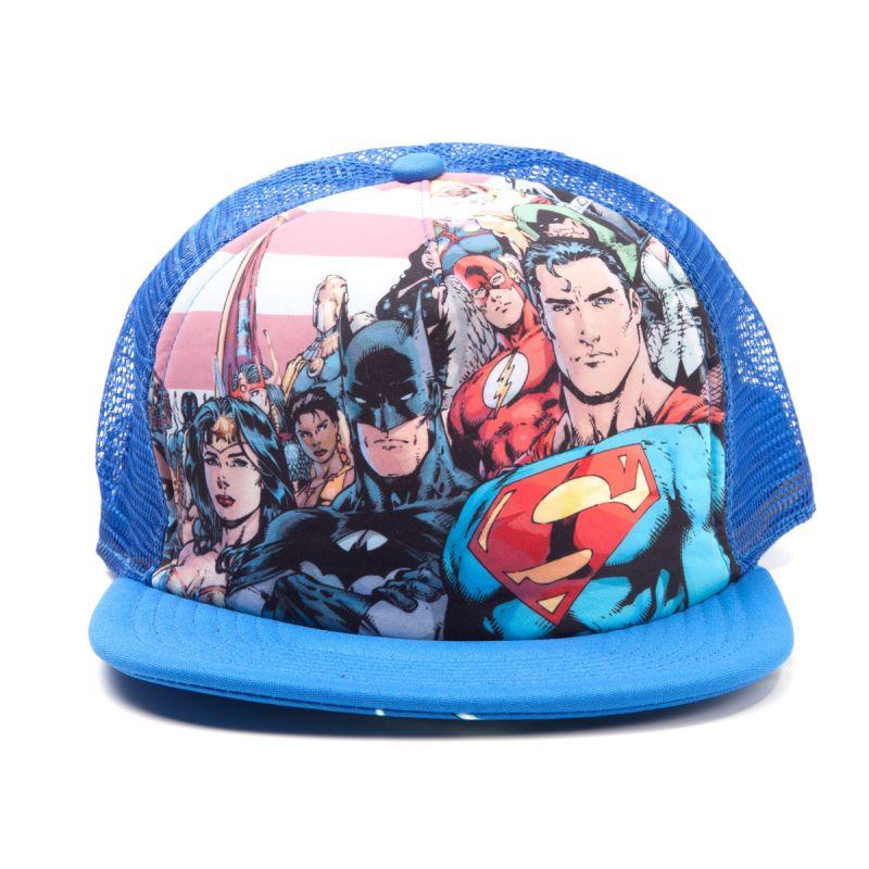 Justice League letní kšiltovka Characters Bioworld
