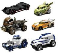 Star Wars Hot Wheels Diecast Vehicle Characters Cars