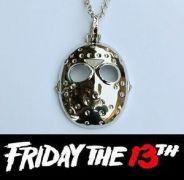 Pátek 13. - náhrdelník maska Jason Voorhees