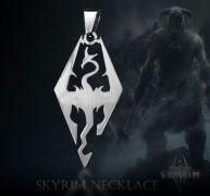 The Elder Scrolls V Skyrim - náhrdelník (ocel)