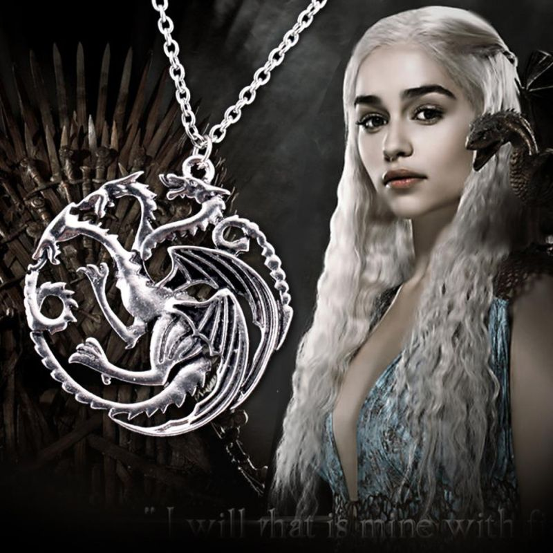náhrdelník Targaryen Sigil Hra o trůny (Game of Thrones)