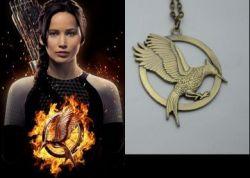 Hunger Games 2 Catching fire náhrdelník Reprodrozd 1:1