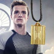 Hunger Games Catching Fire náhrdelník Peeta