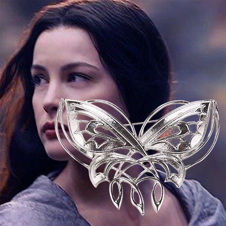 Pán prstenů (Lord of the Rings) - brož Arwen