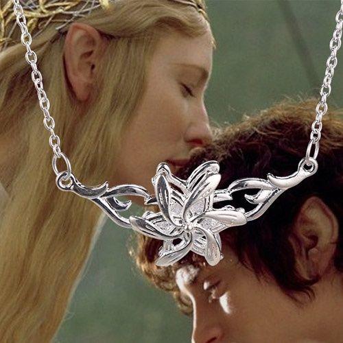 náhrdelník Galadriel Flower Pán prstenů (Lord of the Rings)