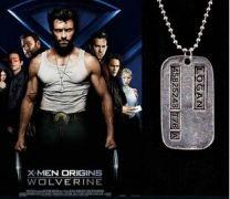 vojenská známka Wolverine/Logan X-men (jednoduchá)