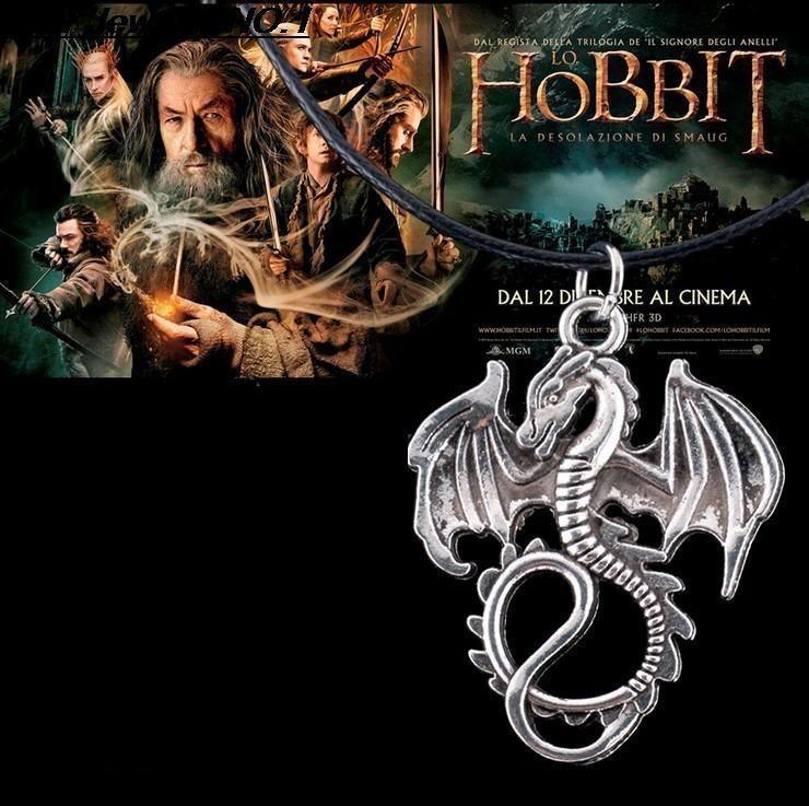Hobit (The Hobbit) náhrdelník Drak Šmak