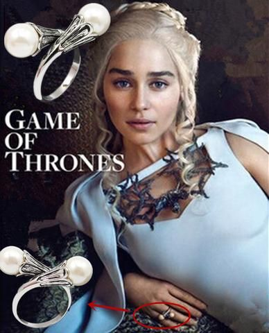 Hra o trůny (Game of Thrones) - prsten Daenerys