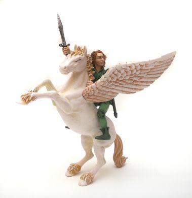Pegas s elfem figurka statická Plastoy