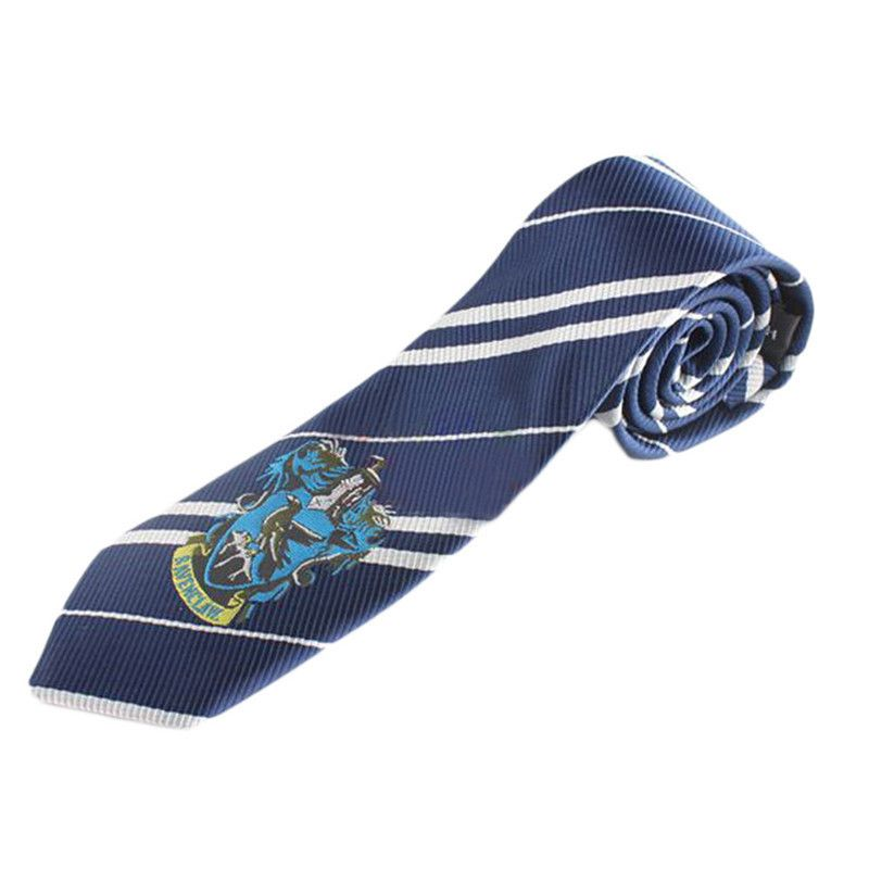 kravata Harry Potter s výšivkou (znak kolejí)