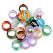 Prsten z Achátu různé barvy