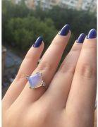 Prsten s opálem různé tvary