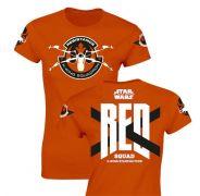 Star Wars dámské tričko RED Squad