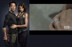The Walking Dead - snubní prsten Maggie