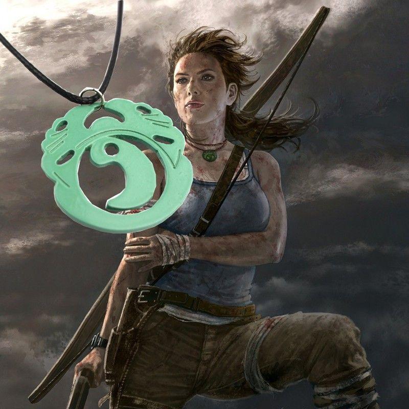 náhrdelník Tomb Raider Lara Croft