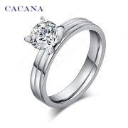 Briliantový prsten rýhovaný