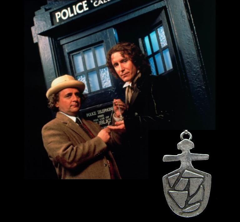 řetízek Doctor Who - klíč k Tardis