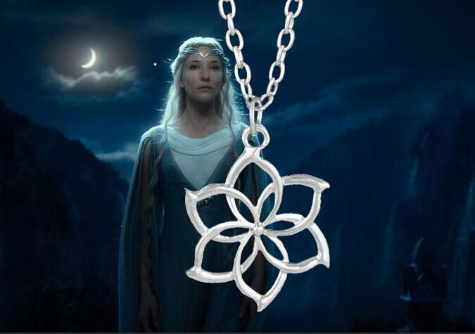 Hobit (The Hobbit) - náhrdelník Galadriel