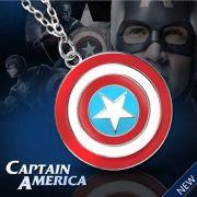 Kapitán Amerika (Captain America) náhrdelník štít 2. jakost