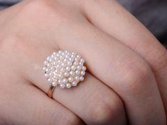 perličkový prstýnek houbička