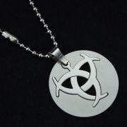 Resident Evil náhrdelník Biohazard Double (ocel)