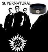prsten Supernatural (Lovci duchů) tetování černý