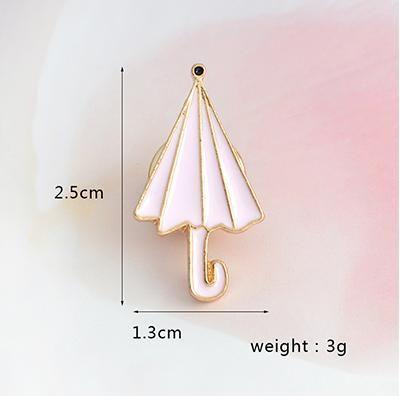 Deštník odznáček (brož)