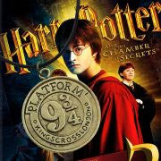 Náhrdelník Harry Potter Nástupiště 9 3/4 bronz