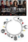 Liga Spravedlivých (Justice League) náramek s přívěsky