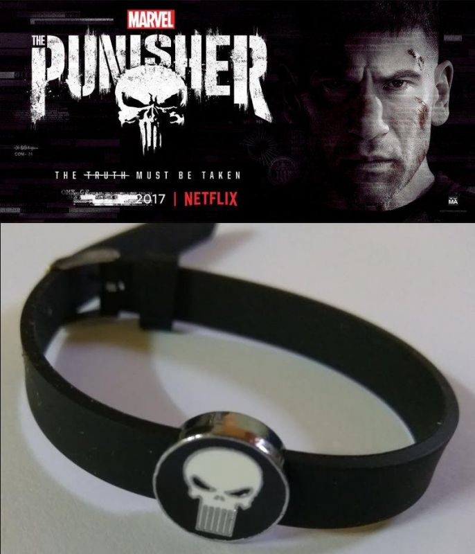 Punisher náramek