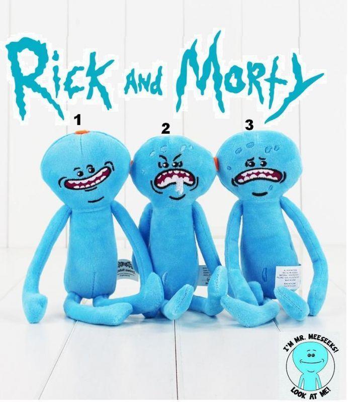 Rick a Morty (Rick and Morty) plyšák Mr. Meeseeks
