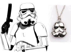 řetízek Star Wars Stormtrooper stříbrný