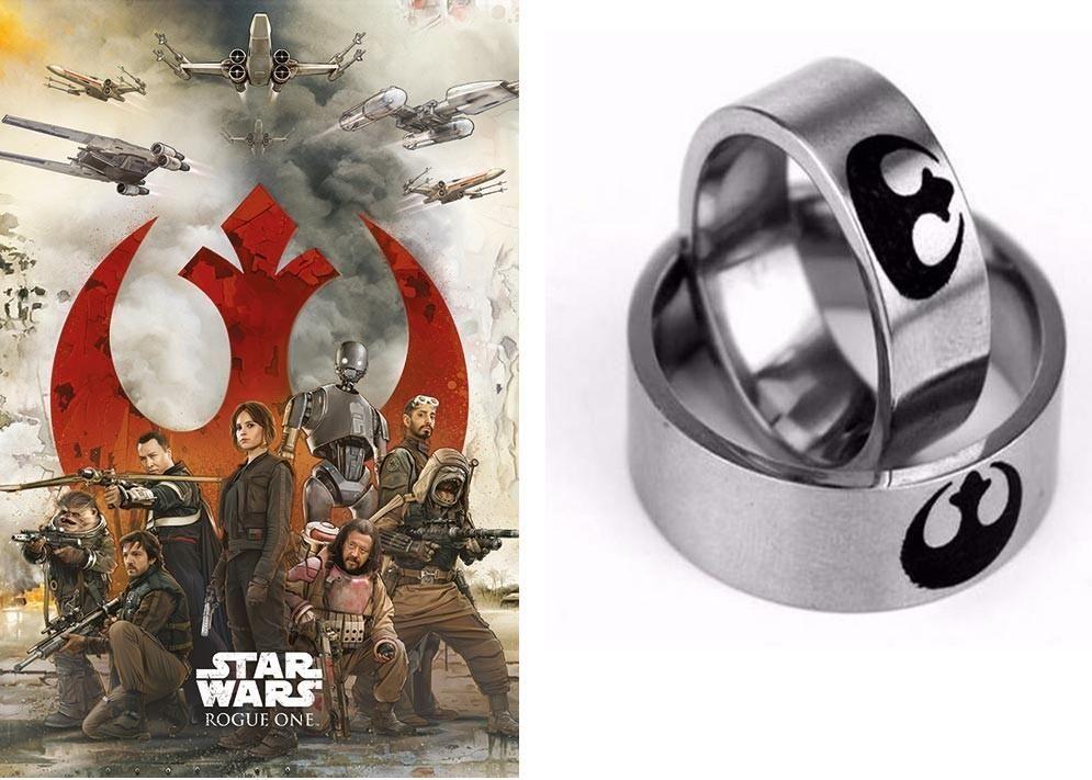 Star Wars / Hvězdné války - prsten odboje (Rebel Alliance)