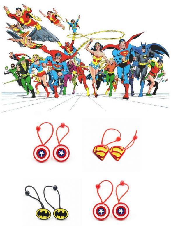 Superhrdinové gumička do vlasů