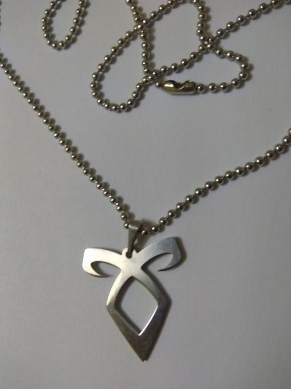 The Mortal Instruments - náhrdelník (ocel)