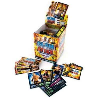 WWE Wrestling Slam Attax Booster (kartičky)