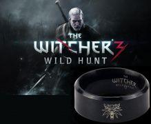 Zaklínač 3 Divoký hon (The Witcher 3 Wild Hunt) - prsten Logo černý