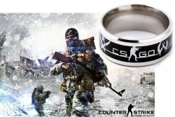 Counter Strike CS GO prsten