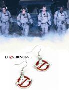 náušnice Krotitelé duchů (Ghostbusters) - Logo