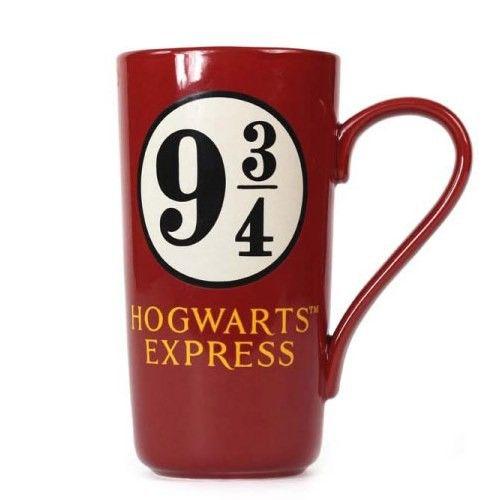 Harry Potter hrnek Latte-Macchiato 9 a 3/4 Half Moon Bay