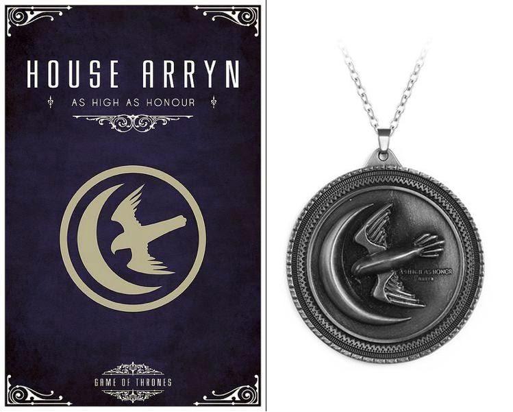 medailon Hra o trůny (Game of Thrones) Arryn