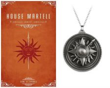 medailon Hra o trůny (Game of Thrones) - Martell